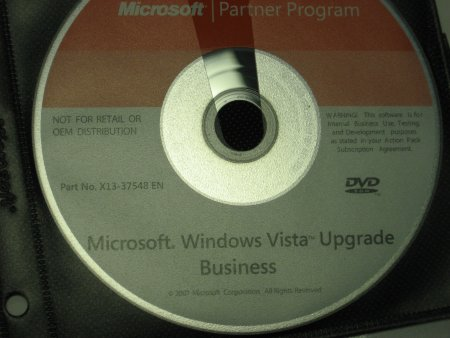Vista Upgrade - Action Pack